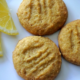 Einkorn Lemon Shortbread Cookies