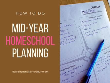 How to Do Mid-Year Homeschool Planning