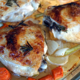 Rosemary Lime Chicken Thighs