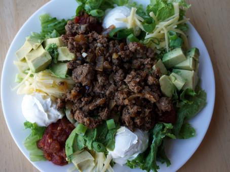 Taco Salad (grain free : gluten free : GAPS legal : primal)