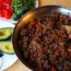 30-minute Ground Beef Fajita Bowl