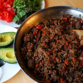 30-minute Ground Beef Fajita Bowl