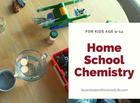Homeschool Chemistry Unit Study