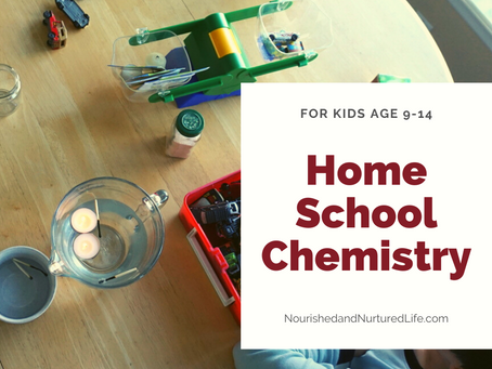 Homeschool Chemistry Unit Study