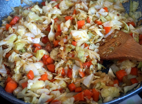 Cabbage Stir Fry (grain-free : AIP : GAPS : Keto)