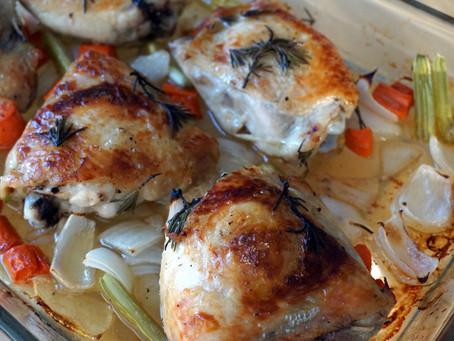 Rosemary Lime Chicken Thighs [keto : grain free : GAPS legal : paleo : autoimmune paleo (AIP)]