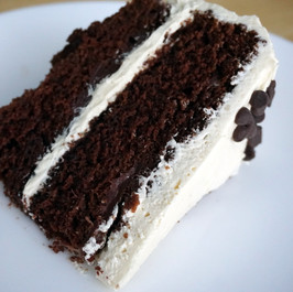 Einkorn Strawberry Chocolate Layer Cake