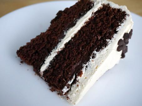 Einkorn Chocolate Strawberry Layer Cake