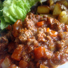 Beef and Red Pepper Hash