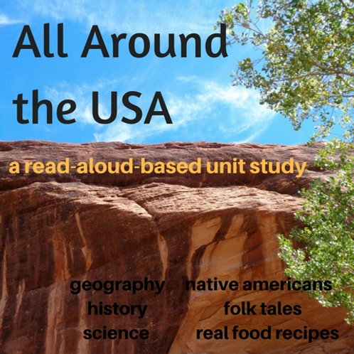 All Around the USA - Read-Aloud-Based Unit Study