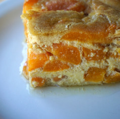 Grain-Free Apricot Custard Cake