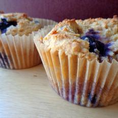 Grain-Free Lemon Blueberry Muffins