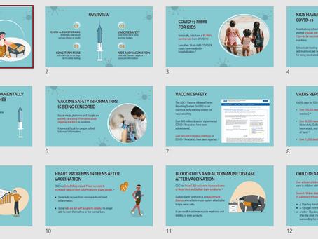 COVID-19 Vaccine DOWNLOADS: Presentation and Printable