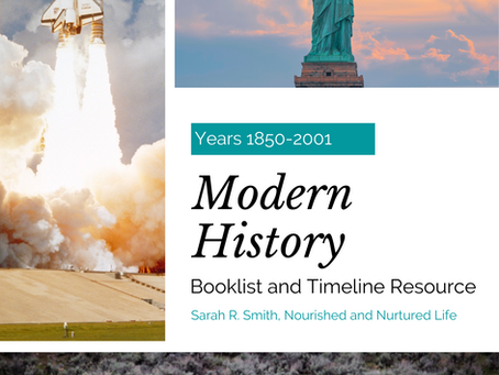 A Modern History Resource for Homeschoolers