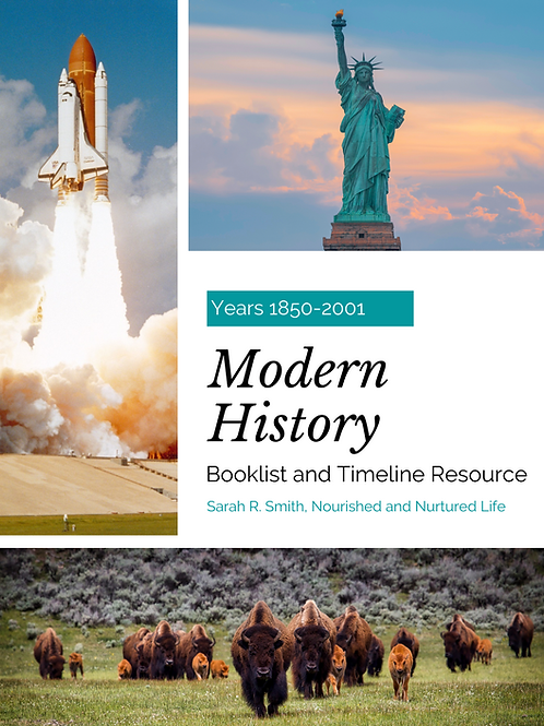 Modern History Booklist and Timeline Resource
