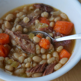 Ham, Bean, and Bacon Soup