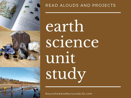 Earth Science Unit Study
