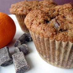 Chocolate, Orange, and Molasses Muffins