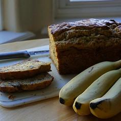 Einkorn Banana Nut Bread (sugar-free)