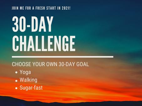 Fresh Start: 30-Day Challenge