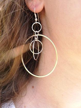 Boucles d'oreilles Maéna