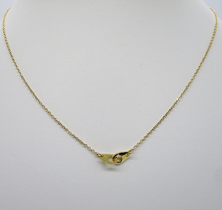 Collier Menottes Or