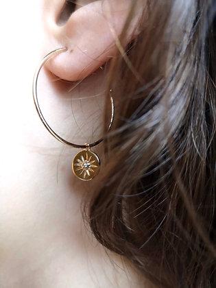 Boucles d'oreilles Clarisse