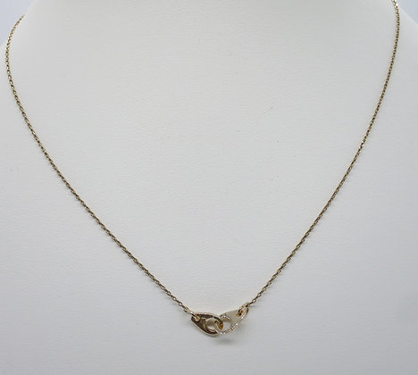 Collier Menottes Rose Gold
