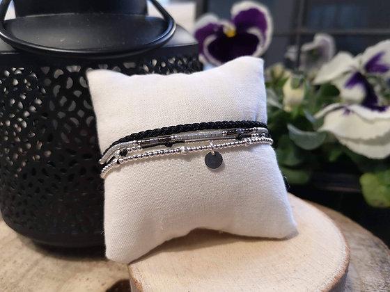 Bracelet Eléa Noir