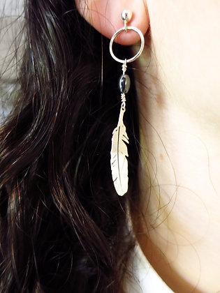 Boucles d'oreilles Azur