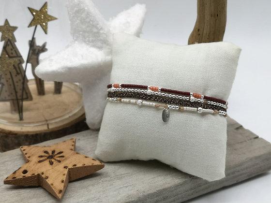 Bracelet Éléa Couleurs d'Hiver