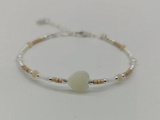 Bracelet Coco cœur