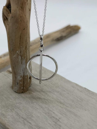 Collier Rond Barre