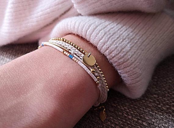 Bracelet Eléa doré