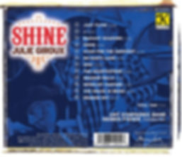 The CD SHINE featuring the music of Julie Giroux performed by the UNT symphonic band, Dennis Fisher Coducting