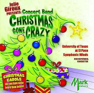 Chritmas gone Crazy CD Cover featuring the musc of Julie Giroux
