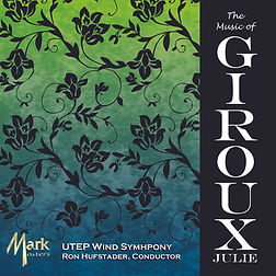 The CD cover of The Music of Julie Girux