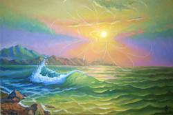 море-закат