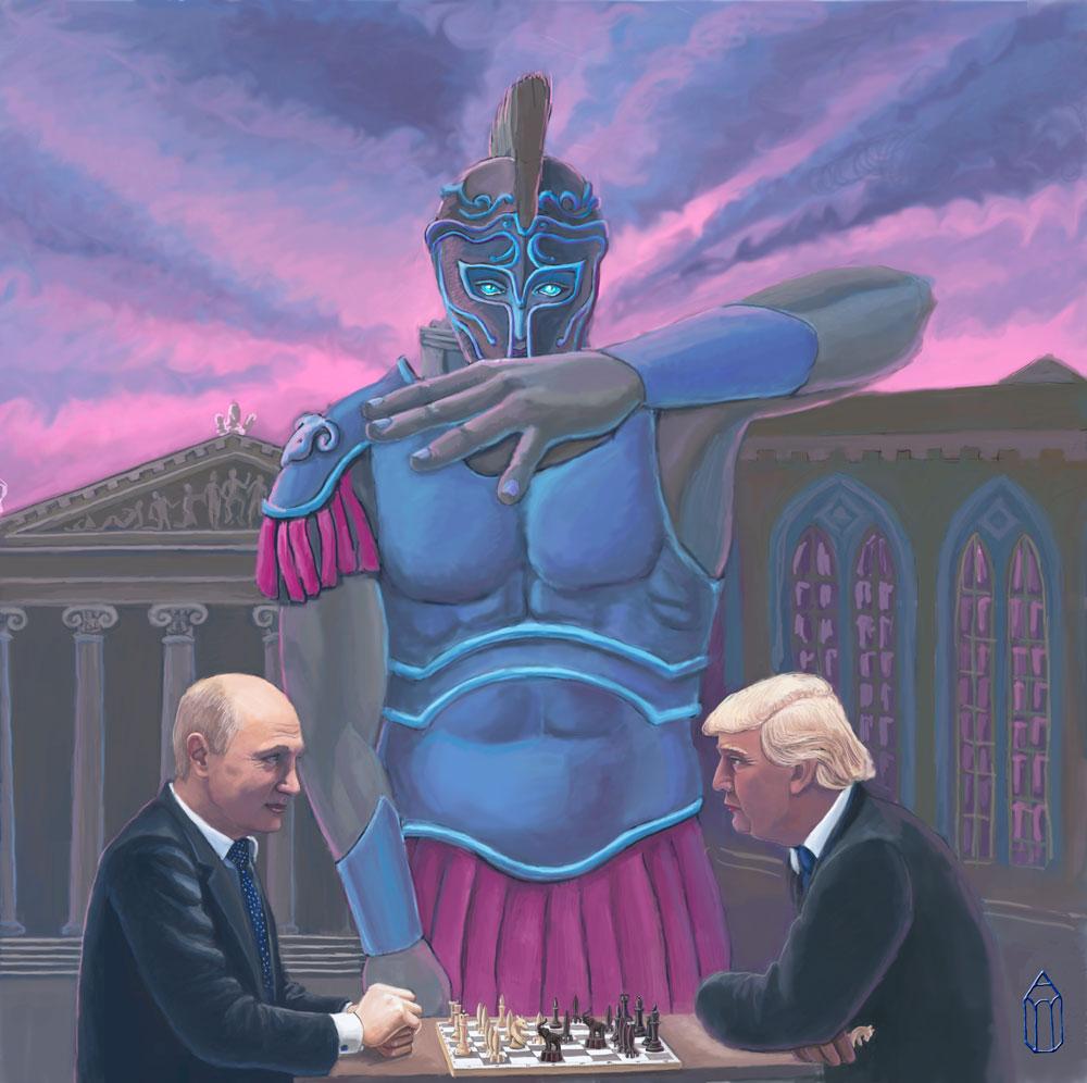 Бог войны правит лидерами