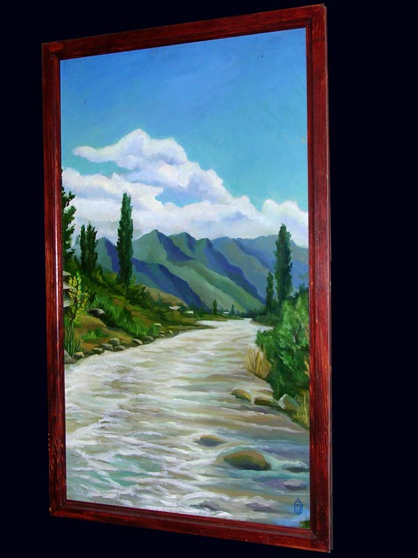 Быстрая река