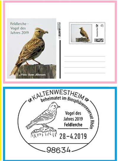 Feldlerche enveloppe exposition.png