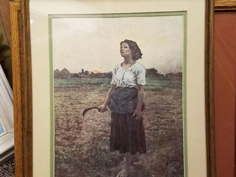The Song of the Lark by Jules Breton