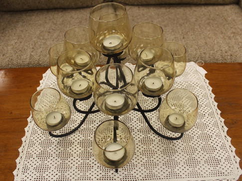 A Chandelier For Your Table