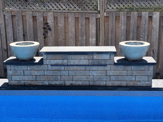 Back yard fire bowls