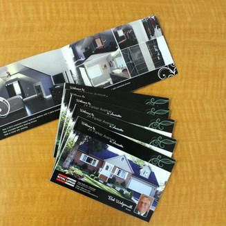Real Estate Feature Sheet design