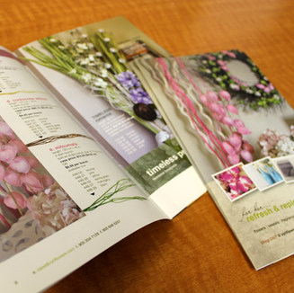 Booklet development and design