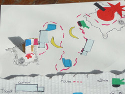 Carte du parcours de Faïk