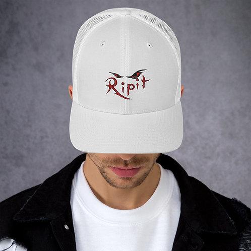 White Ripit Trucker Cap
