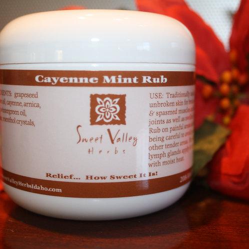 Cayenne Mint Rub