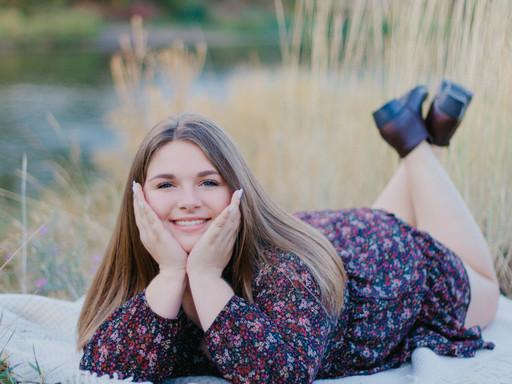 Lexi's Timeless, Riverside Senior Portrait Session